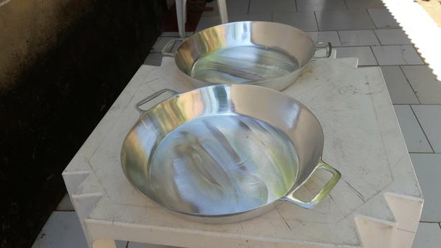 Frigideiras de alumínio batido Grosso - Foto 5