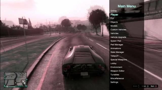 Mod menu Gta 5 ps3 online jogo online na sessão pública - Videogames