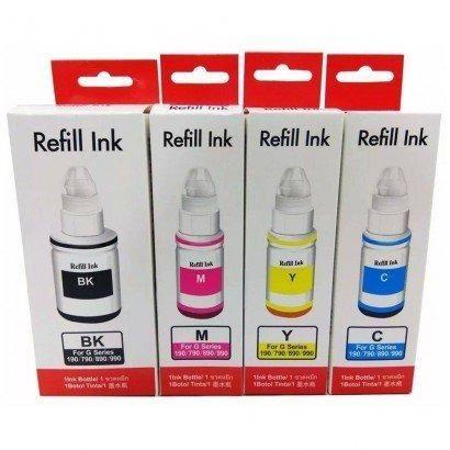 Tinta Corante para Impressora com Bulk Ink / Epson / Canon / HP - Qualidade Fotográfica - Foto 4