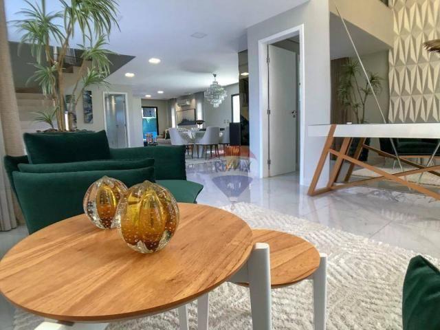 Casa com 3 dormitórios à venda, 337 m² por R$ 2.100.000 - Condomínio Alphaville Fortaleza  - Foto 3