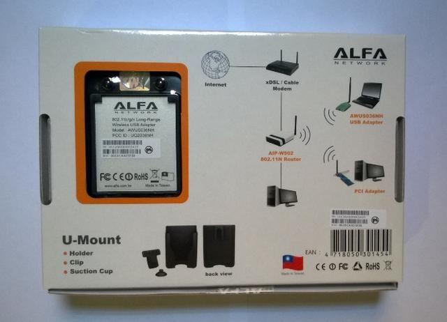 Alfa AWUS036NH Adaptador Wireless USB - Foto 5