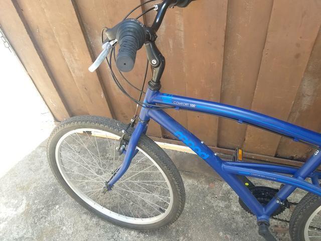 Bicicleta muito boa 1 mês de uso 600 reais - Foto 3