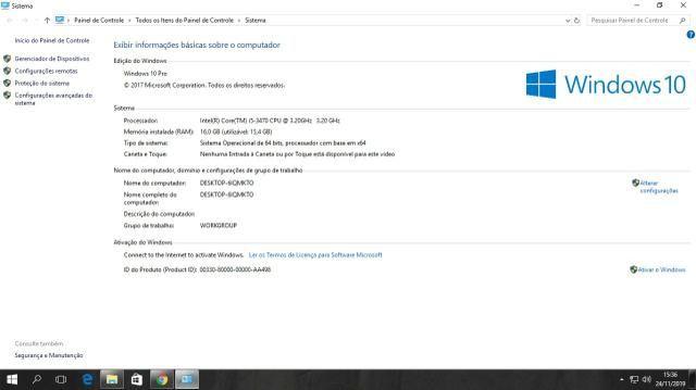 Vendo processador i5 3470 e memoria RAM ddr3 4gb cada 1600 GHz