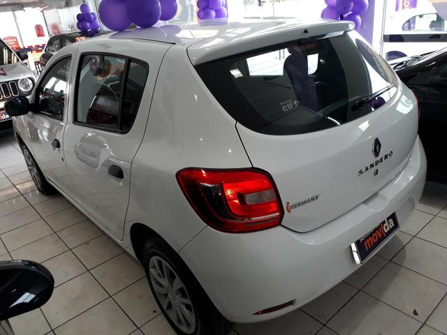 Sandero Authentique 1.0 Flex 12V 2019 - Foto 3