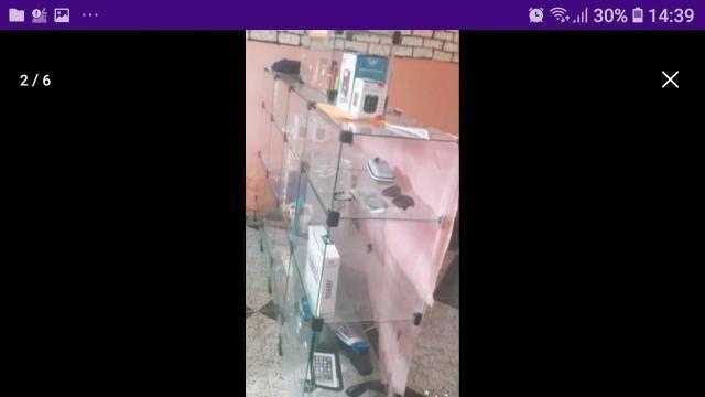 Promoção Balcão de vidro 12 divisorias - Foto 3