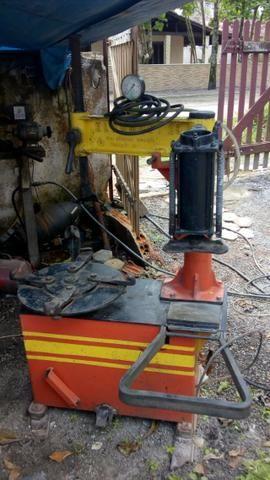 Maquina de desmontar pneu de carro e chave de impacto pneumática 01 polegada - Foto 2