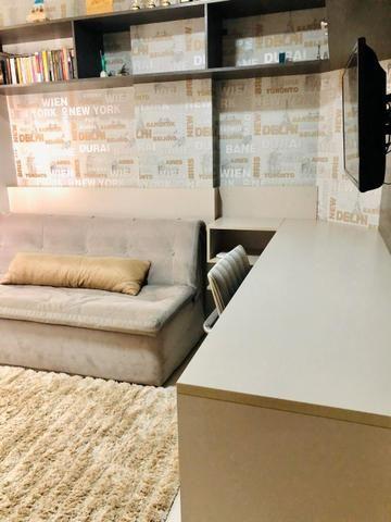 Apartamento Completo Mobiliado e Decorado - Foto 9