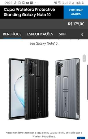 Note 10 Plus, 12 GB memória RAM so 4000,00 - Foto 4