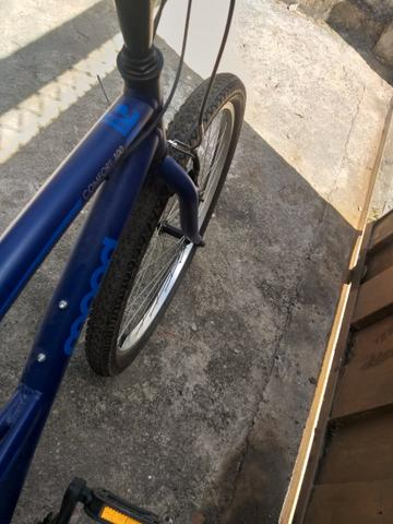 Bicicleta muito boa 1 mês de uso 600 reais - Foto 6