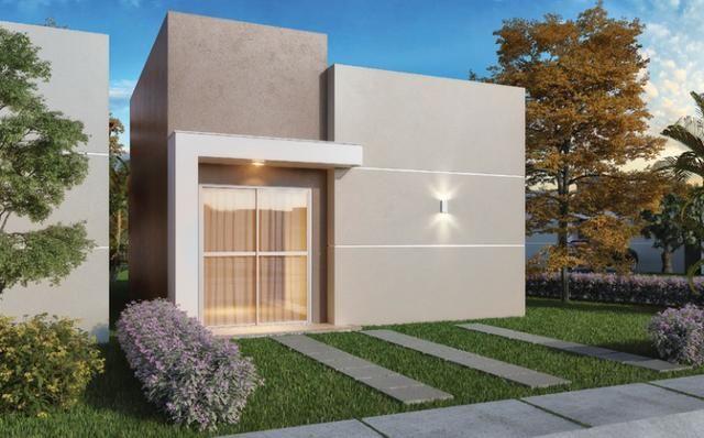 Casa de 2/4 na Av Ayton Senna, bairro Papagaio por R$ 116.990,00