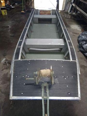 Barco borda alta + carretinha + cozinha completa  - Foto 7