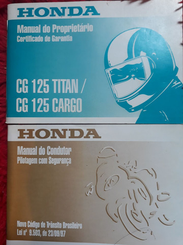 Manual Do Proprietário Honda Cg 125 Titan/ Cg 125 Cargo - Foto 2