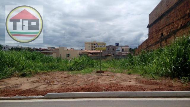 Terreno à venda, 312 m² por R$ 125.000,00 - Belo Horizonte - Marabá/PA