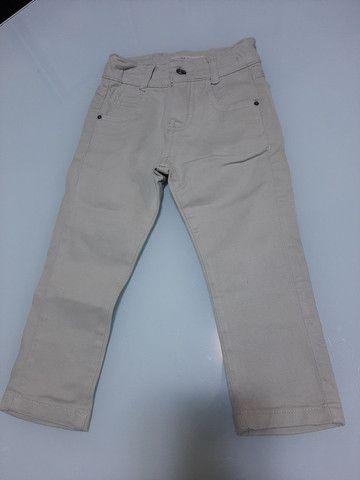 Calça/Bermuda Jeans Infantil menino 2 anos *ACEITO CARTÃO*
