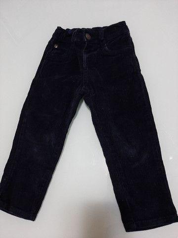 Calça/Bermuda Jeans Infantil menino 2 anos *ACEITO CARTÃO* - Foto 2
