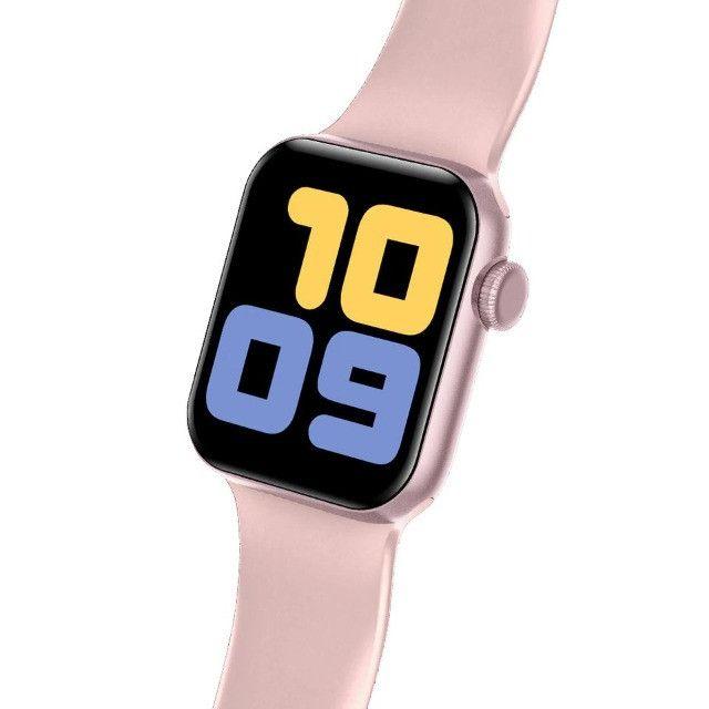 Relógio Smartwatch Iwo 13 i8 Pró Totalmente à prova d'água GPS 52 Faces Lançamento - Foto 3
