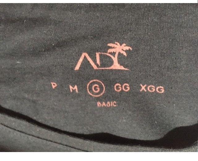 Camiseta preta lisa AD Life Style Nova 100% algodão - Foto 5