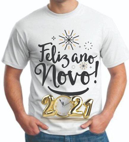Camisa personalizada ano novo e outras - Foto 2
