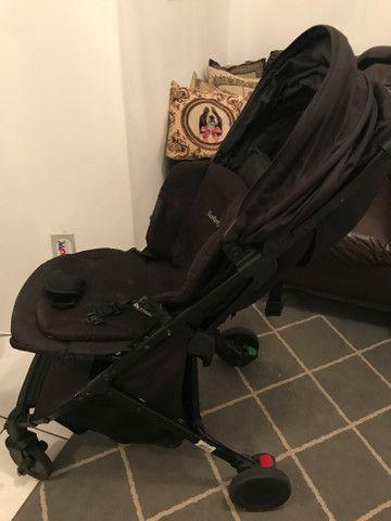 Carrinho+ cadeirinha e bebê conforto
