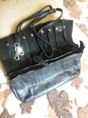Bolsas em couro legítimo , bem conservadas  - Foto 6