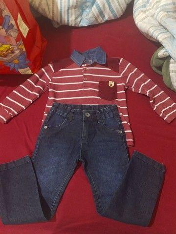 Lote de roupas meninos  - Foto 5