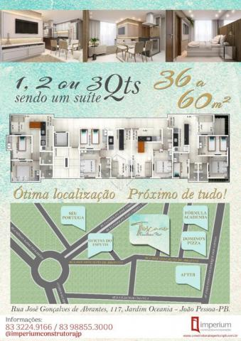 Apartamento à venda com 1 dormitórios em Jardim oceania, Joao pessoa cod:V2084 - Foto 15