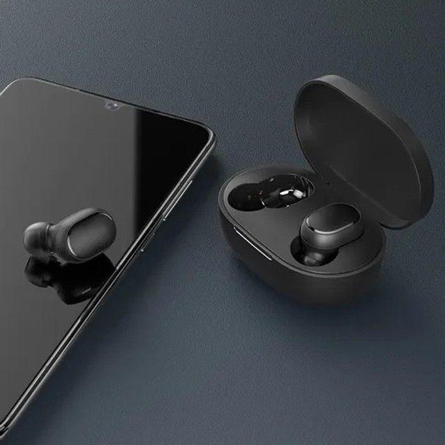 Fone In-ear S/fio Xiaomi Redmi Airdots 2 Preto (novo) - Foto 2