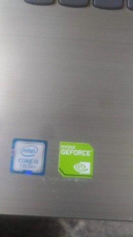 core i5-7a geraçao- 8gb ddr4-tela 15.6-geforce dedicada/garantia - Foto 2