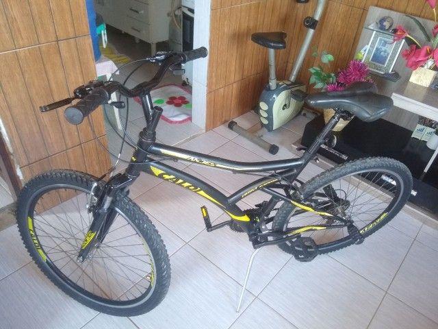 Bicicleta 16 marchas
