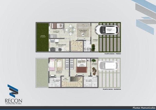 Casa com 2 dormitórios à venda, 70 m² por R$ 210.000,00 - Tamatanduba - Eusébio/CE - Foto 20