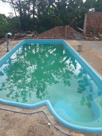 piscina de fibra leds de brinde fibra - Foto 4