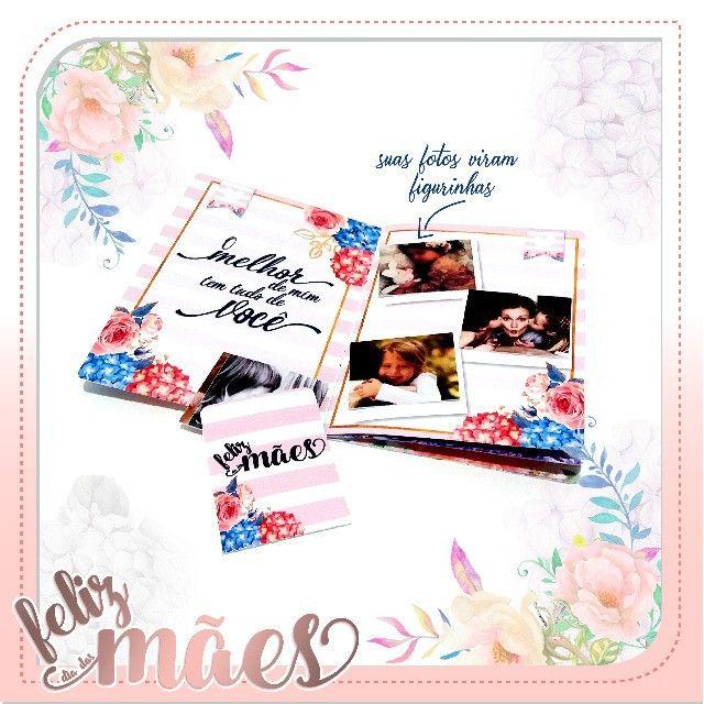 Album de Figurinhas personalizado Dia das Mães - Foto 2