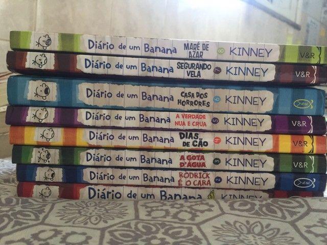 Coleção de Diário de um Banana (01-08) - Foto 2