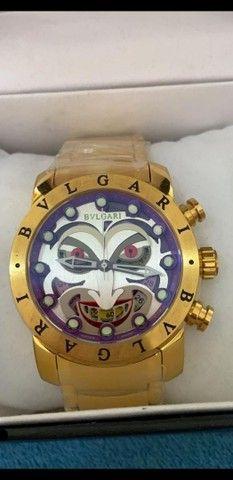 Relógio Rolex Datejust e Relógio BVLGARI Coringa  - Foto 2