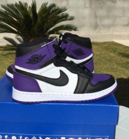 Air Jordan 1 Court Purple  - Foto 2