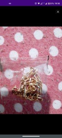 Vendo cordão c/ pingente e pulseira romanel - Foto 5
