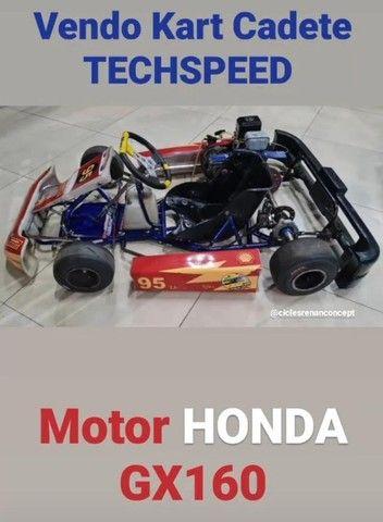Kart Cadete Techspeed