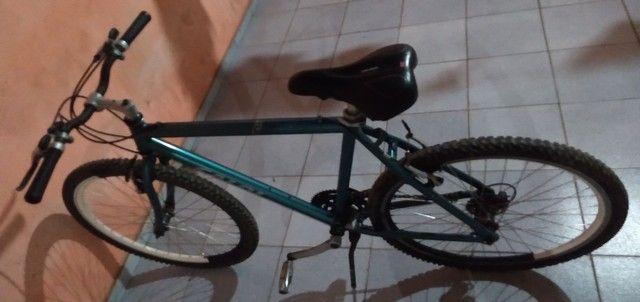 Vende-se uma bicicleta de ALUMINUM!! - Foto 5