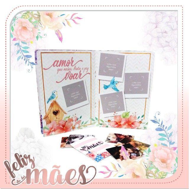 Album de Figurinhas personalizado Dia das Mães - Foto 4