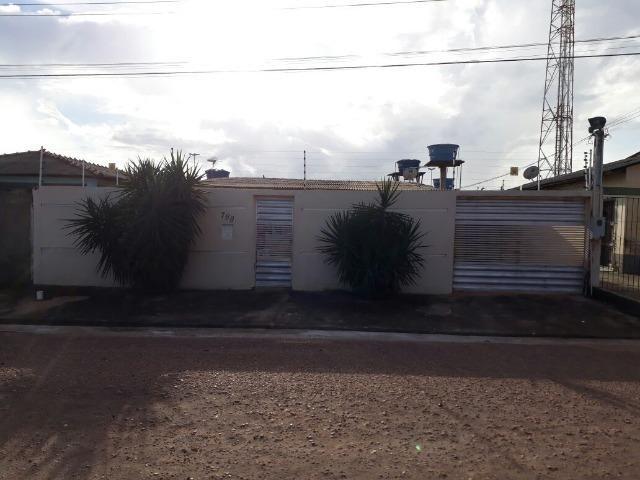 Casa no início do Marabaixo 3, rua asfaltada