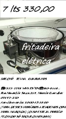Brechó Telma Guarulhos com fritadeira elétrica 7 litros