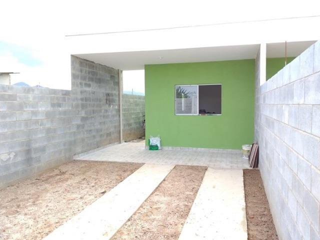 Vende || Casa Nova no Golfinhos || 02 dormitórios || Preço Especial || 190 mil - Foto 2