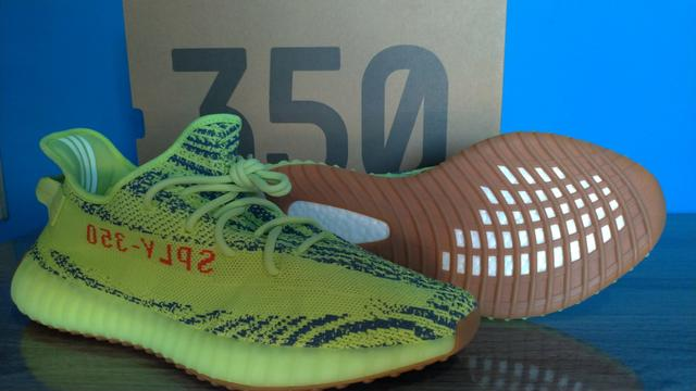 68640338faa Adidas kanye yeezy boost 350 semi frozen yellow