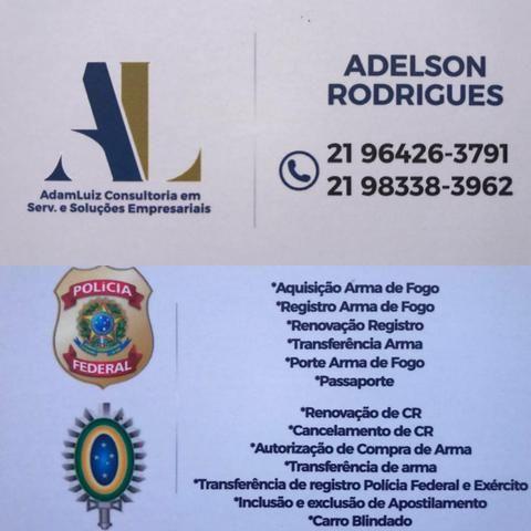 Consultoria policia federal e exercito