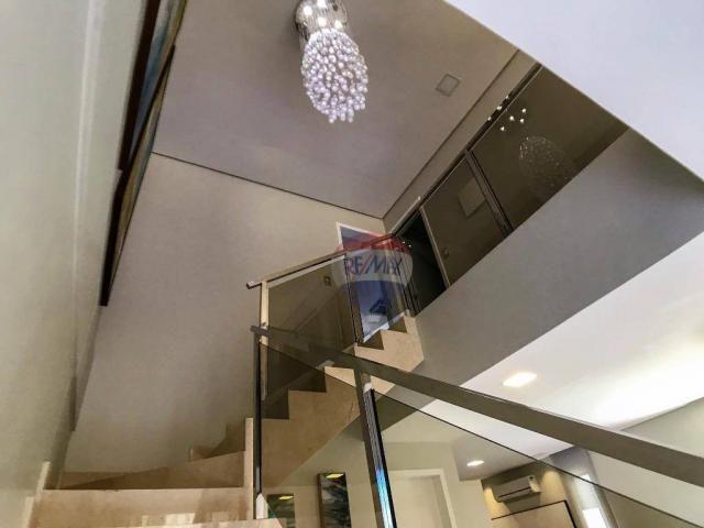 Casa com 3 dormitórios à venda, 337 m² por R$ 2.100.000 - Condomínio Alphaville Fortaleza  - Foto 17