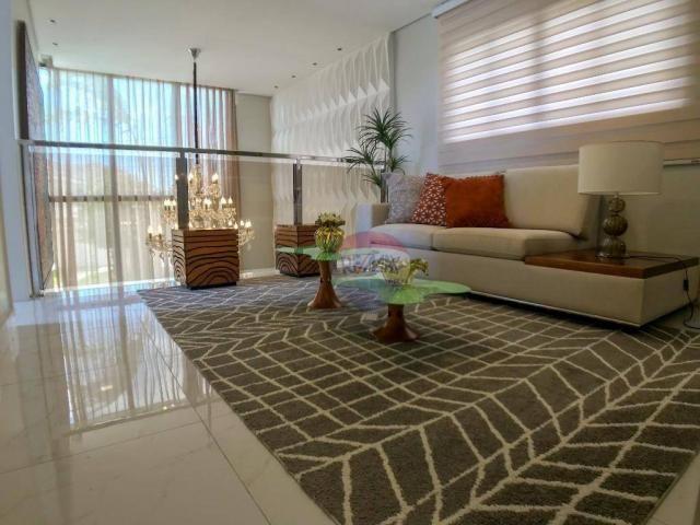 Casa com 3 dormitórios à venda, 337 m² por R$ 2.100.000 - Condomínio Alphaville Fortaleza  - Foto 19