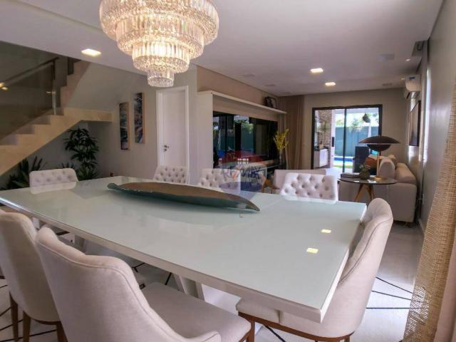 Casa com 3 dormitórios à venda, 337 m² por R$ 2.100.000 - Condomínio Alphaville Fortaleza  - Foto 11