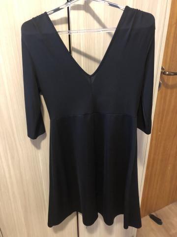 Vestido Preto Zara M - Foto 2
