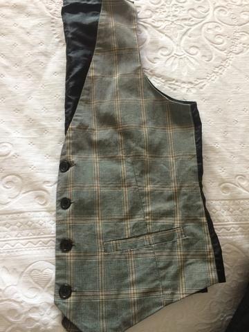 Zara masculino TAM 38 colete