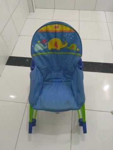 Cadeirinha de balanço + Cadeira alimentação - Foto 5